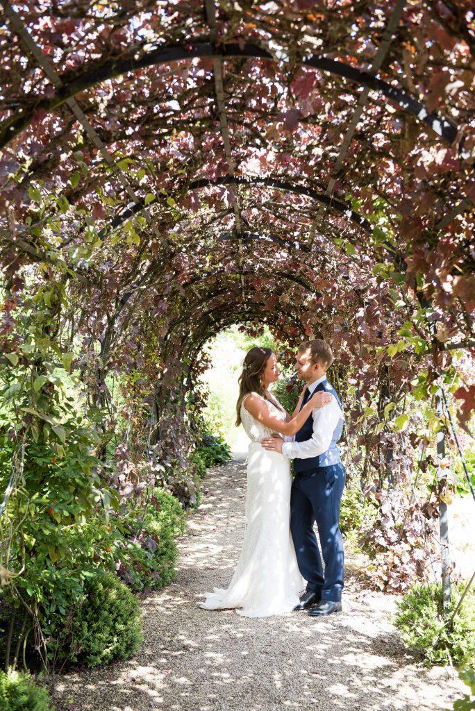 Natural wedding portrait Surrey