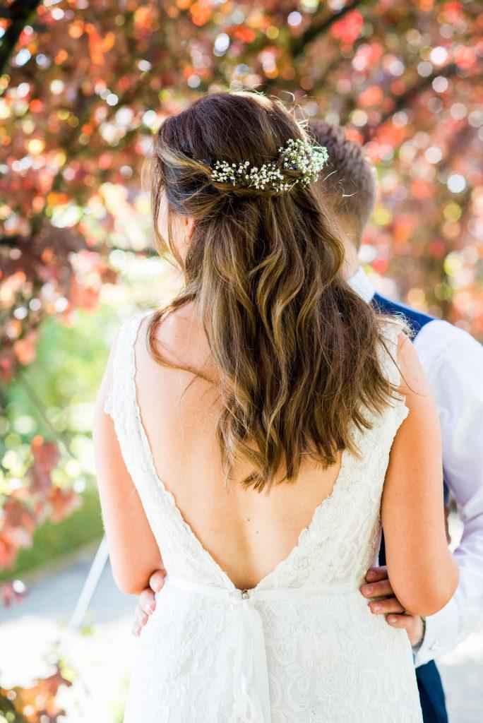 Natural wedding details of Maggie Sotterro bride Surrey
