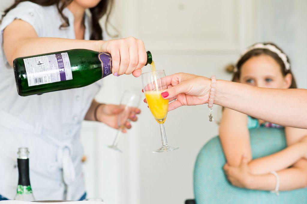 Bridal preparation Surrey wedding