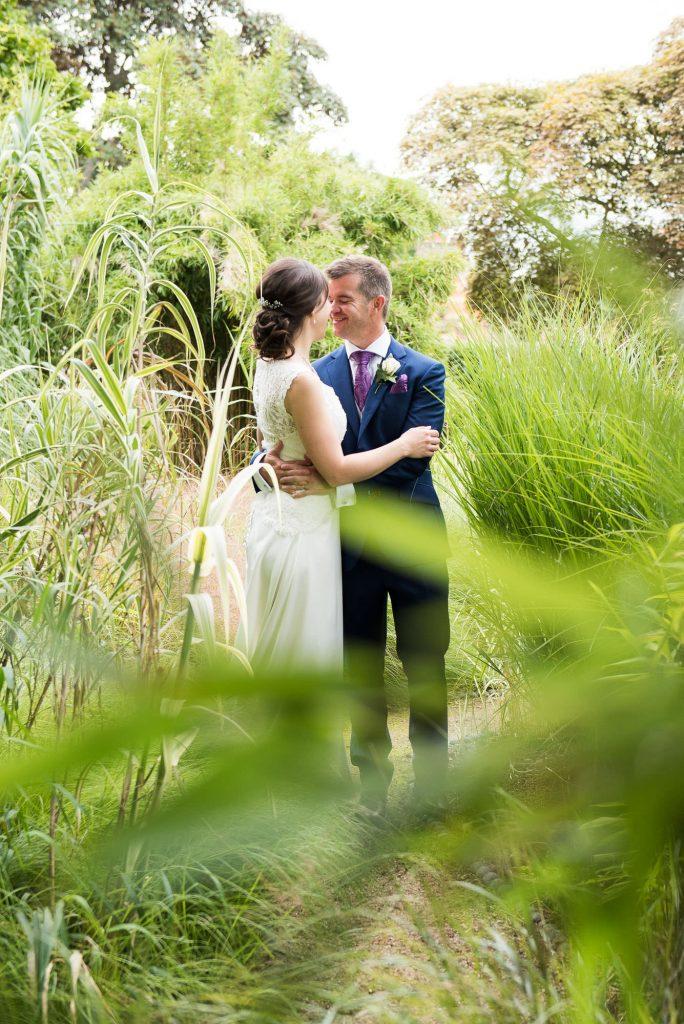 Beautiful wedding portrait Surrey