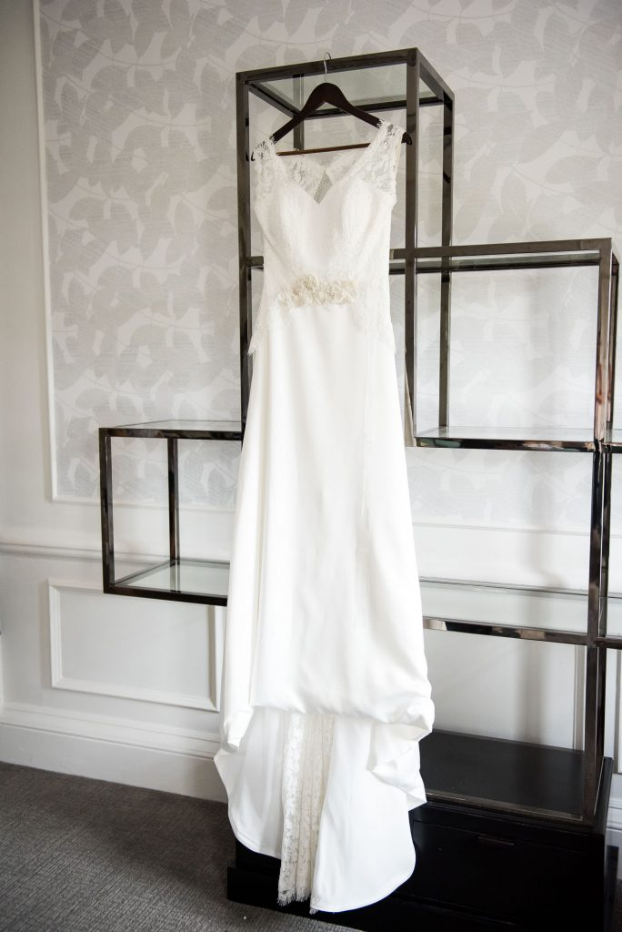 Gorgeous wedding dress from Farnham Boutique