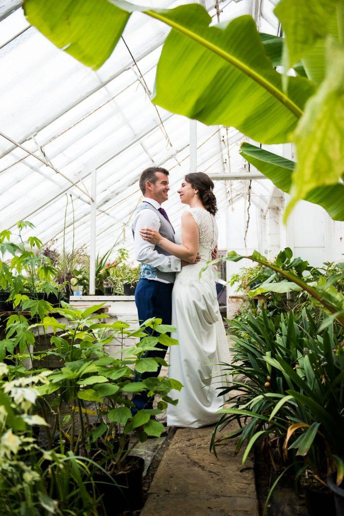 Creative wedding portrait Surrey wedding