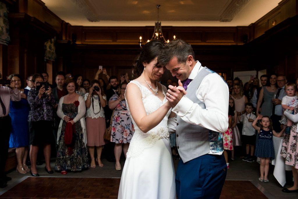 First dance Surrey wedding
