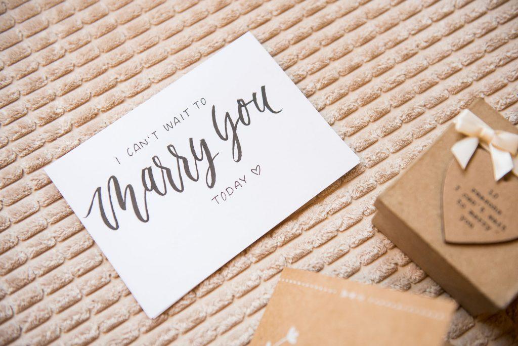 Ashridge House Wedding. Natural Wedding Photography. Bridal gift box.