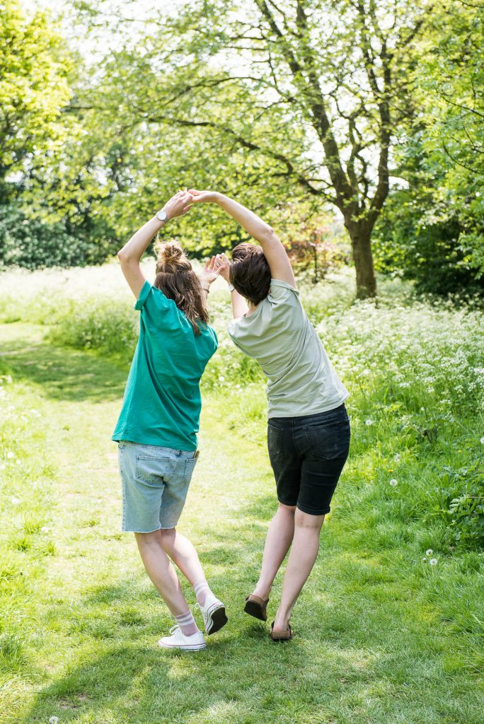 Cusworth Hall Engagement Shoot, Creative Engagement Photography