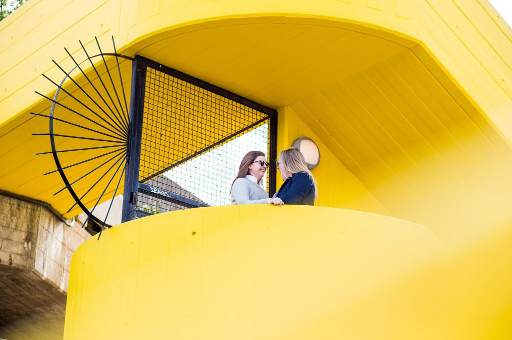 Southbank Engagement shoot, LGBT Engagement Shoot Photography, creative couples photography in industrial setting