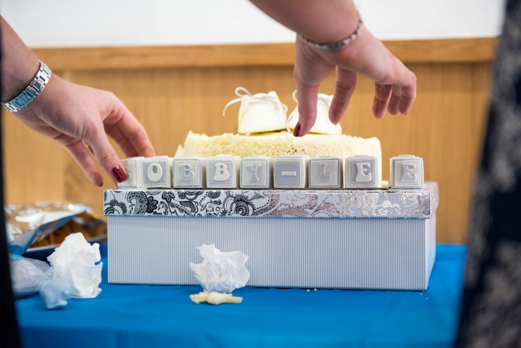 Naming Day Ceremony. Essex Family Photography. Naming Day Cake, Chelmsford.