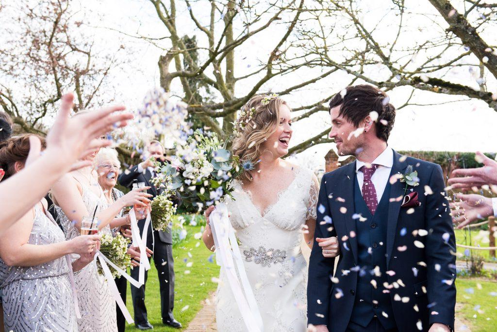 Wedding Confetti, Wedding Planning Advice, Documentary Wedding Photography Surrey