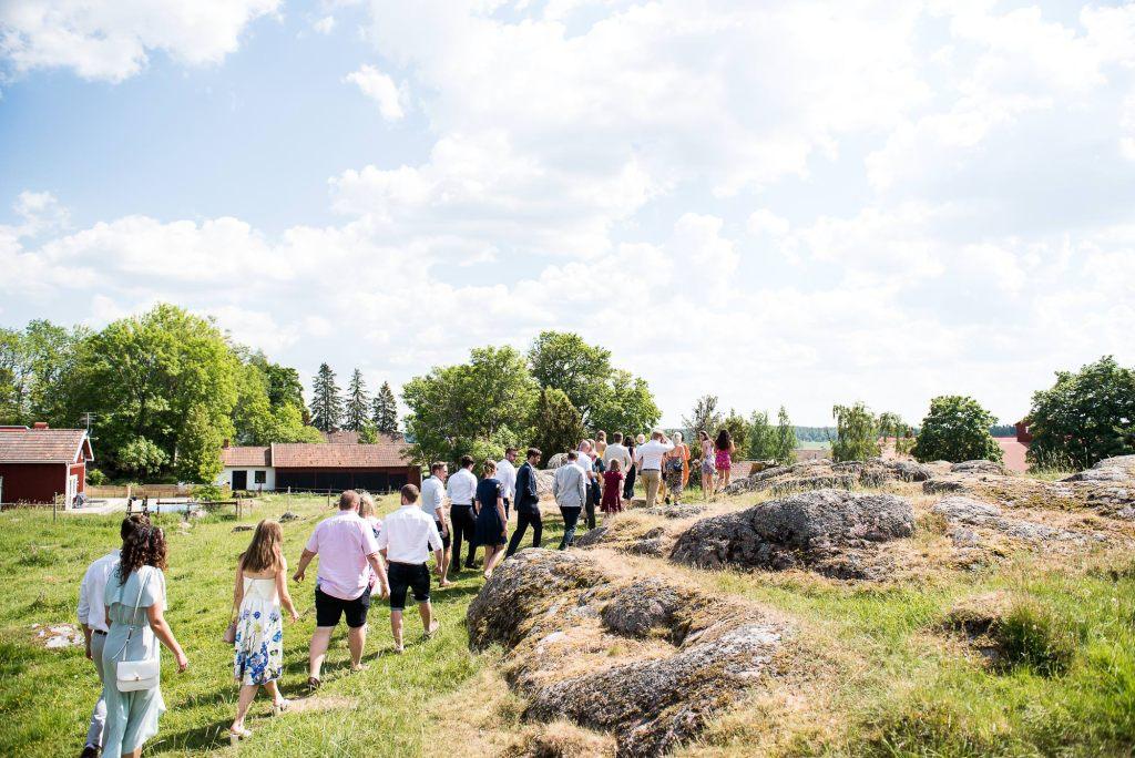 Swedish Wedding - Kroksta Gard Wedding - Woodland Wedding Ceremony