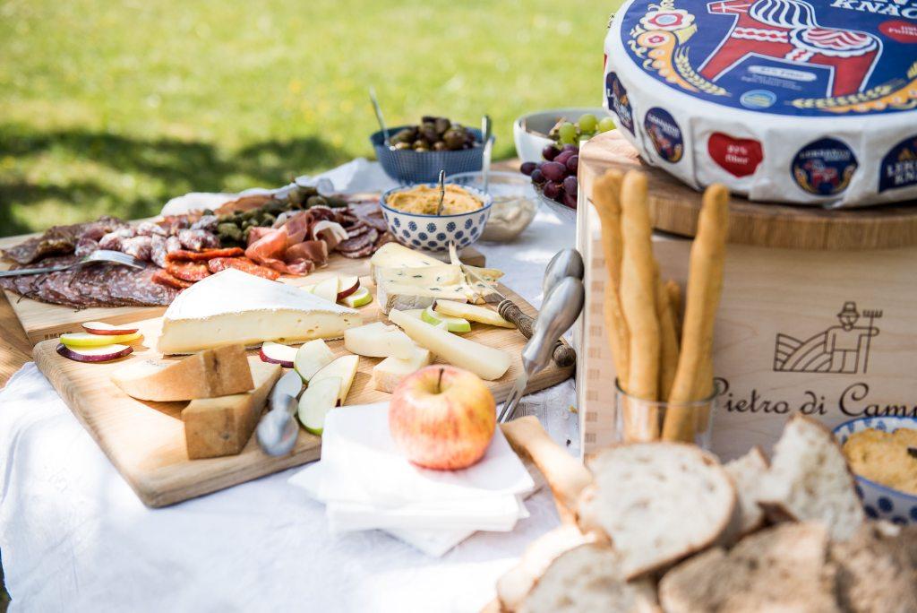 Swedish Wedding - Kroksta Gard Wedding - Wedding Reception Tasting Table