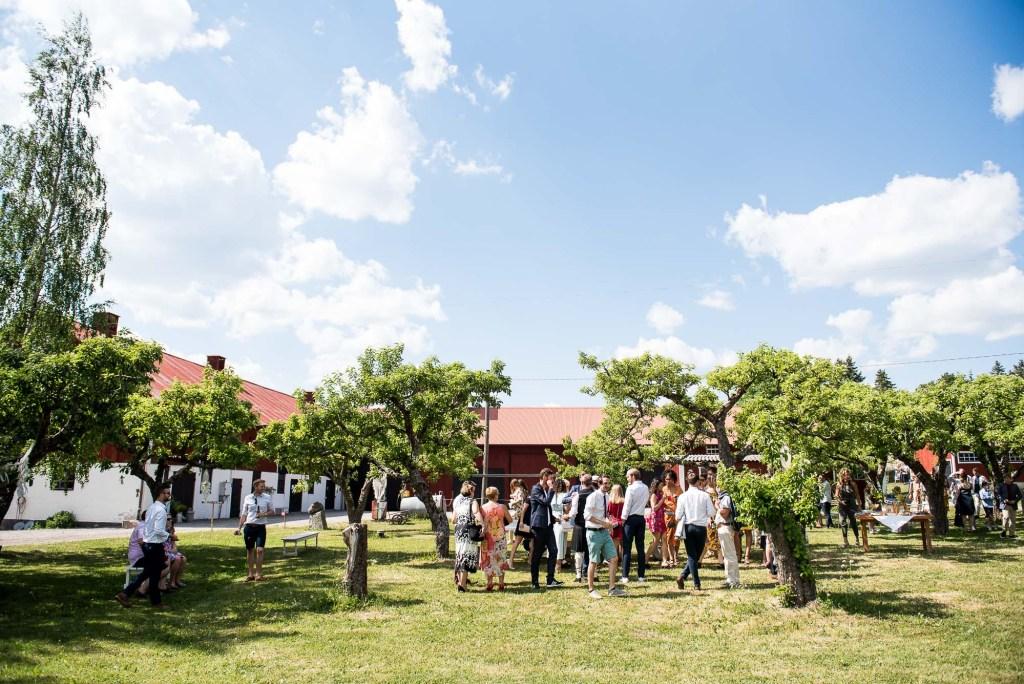 Swedish Wedding - Kroksta Gard Wedding - Swedish Wedding Reception