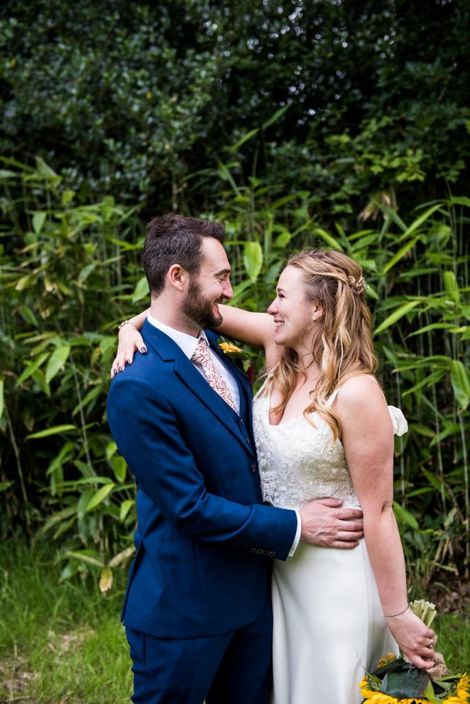 Outdoor Wedding Ceremony, Surrey Wedding Photography, Natural and Candid Wedding Photographs