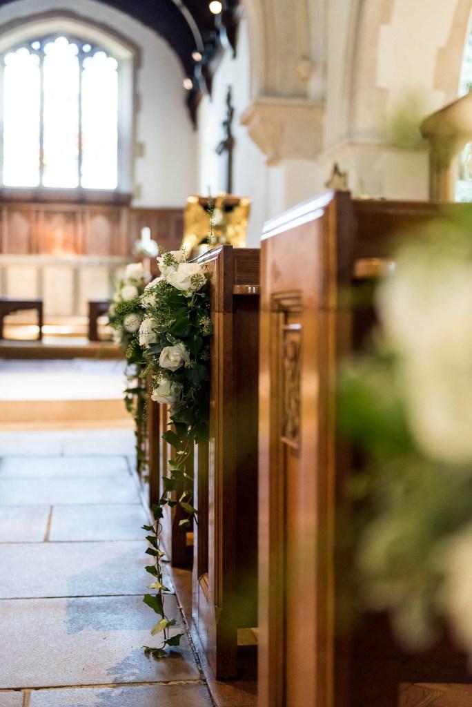 Outdoor Wedding Photography Surrey, Chobham Church Interior, Surrey Wedding Photography
