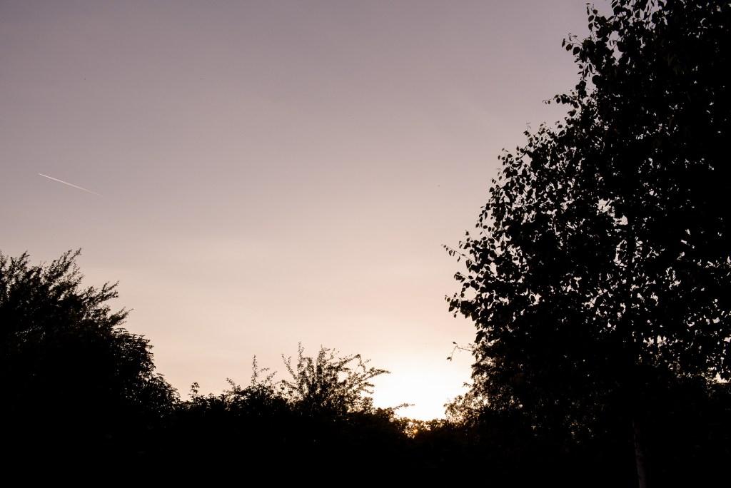 lgbt wedding photographer, sunset over Dodmoor House