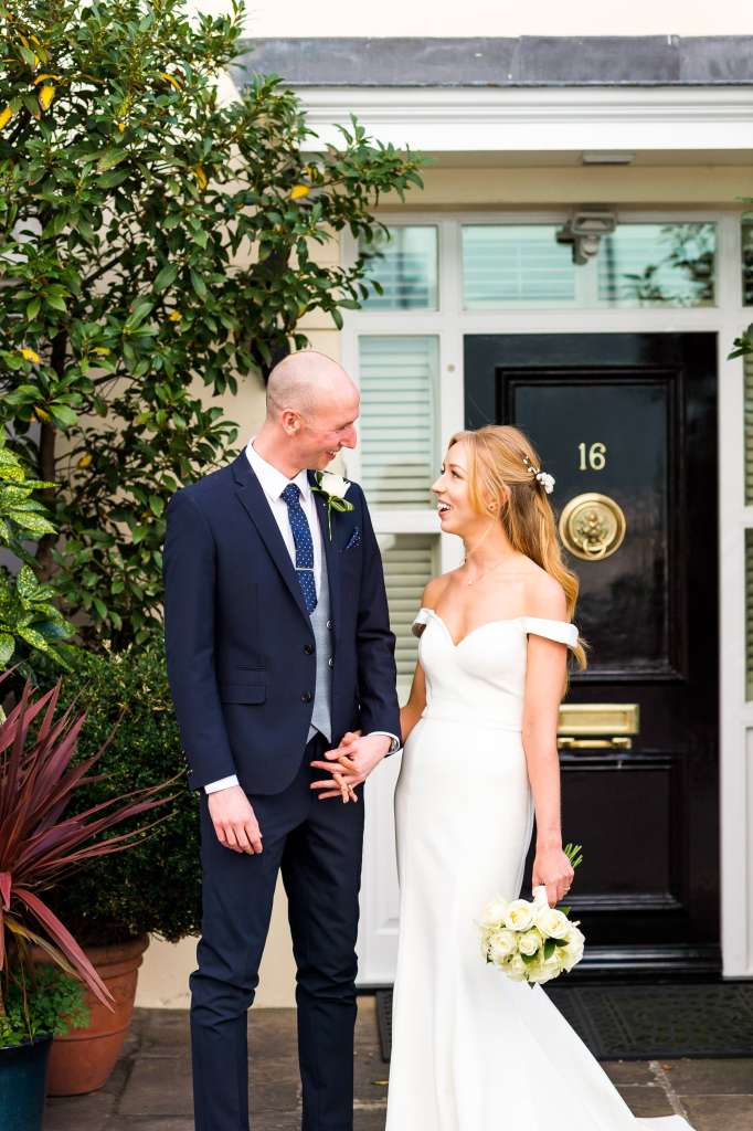 Old Marylebone Town Hall Wedding, Candid London wedding couples photography