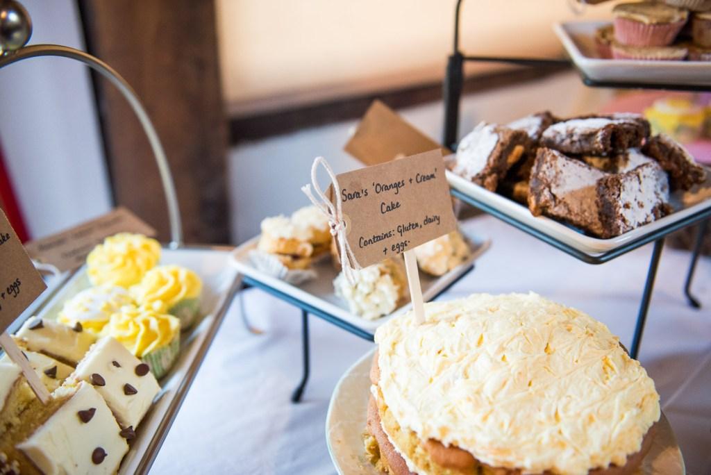 Home made sweet treats table © Jessica Grace Photography