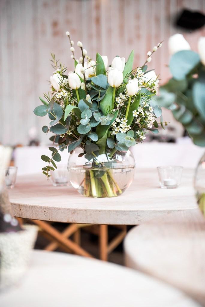 Botanical bouquet for Buckinghamshire wedding