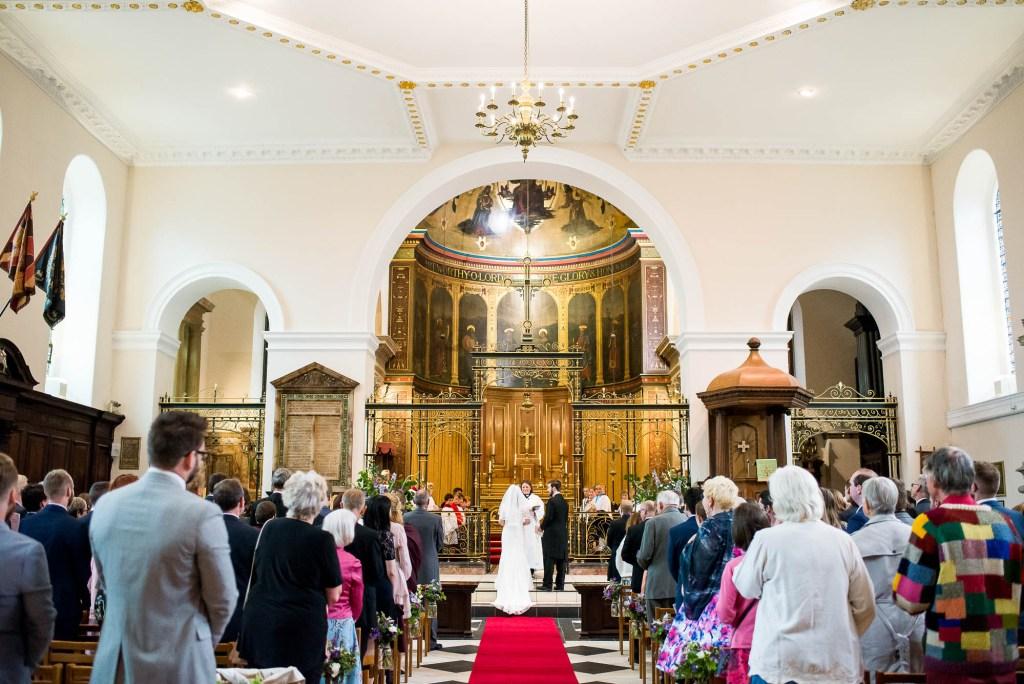 Wedding at Holy Trinity Church Guildford