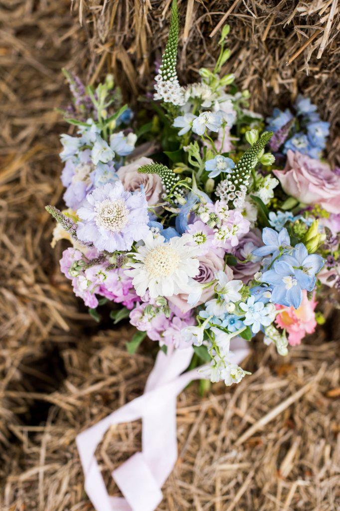 Arrangement by Surrey florist Mad Lilies