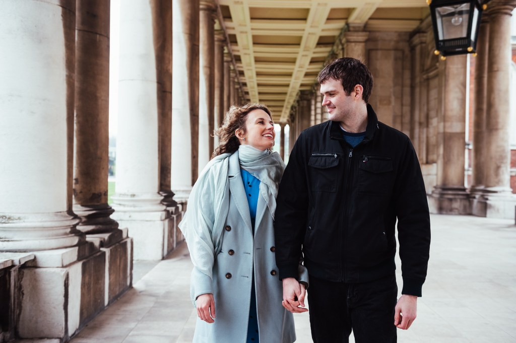 London engagement photography, Greenwich Park Engagement Shoot