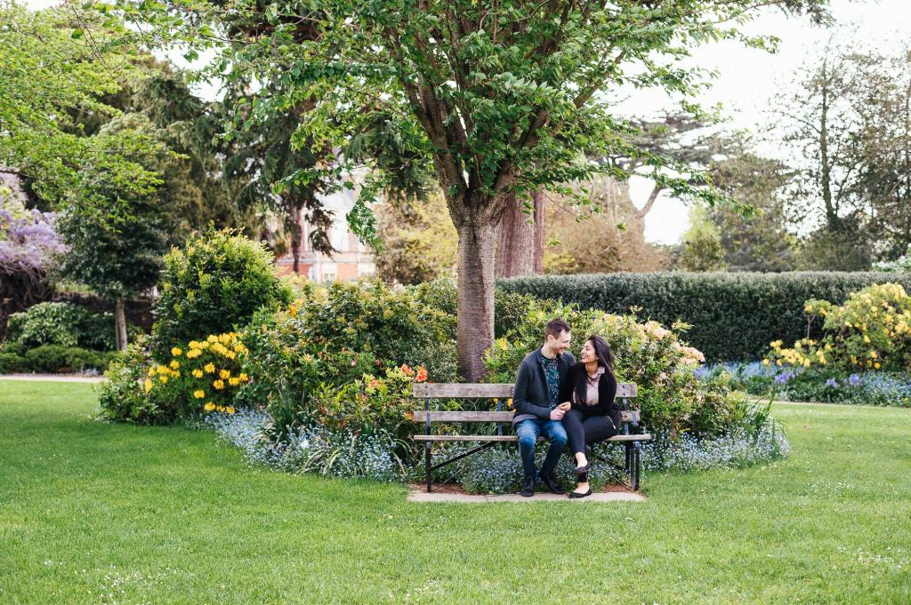 Natural Forty Hall Engagement Shoot