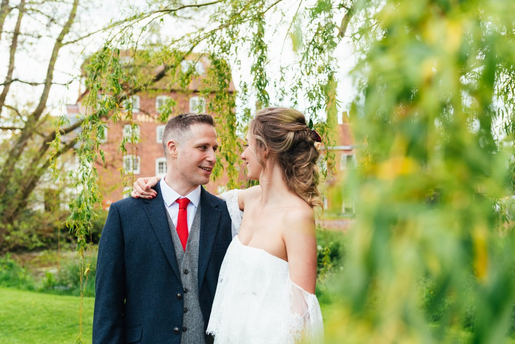 Natural wedding photography for the mill at elstead wedding