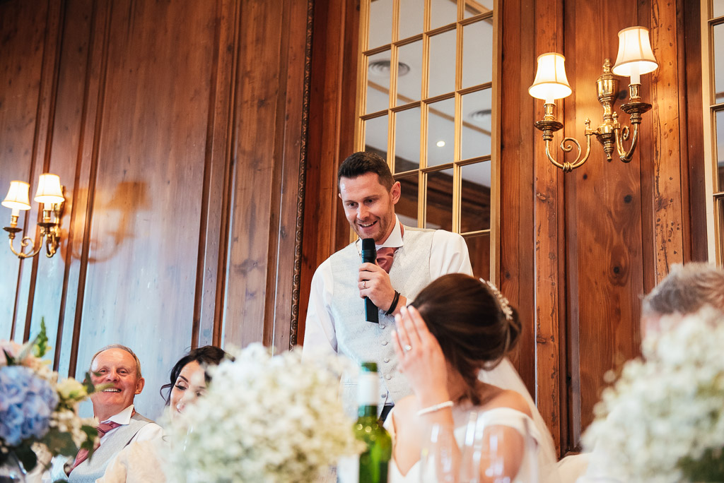 Documentary wedding photography speeches