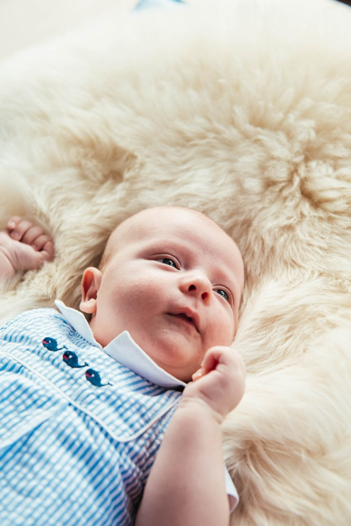 Natural and relaxed new born baby photography