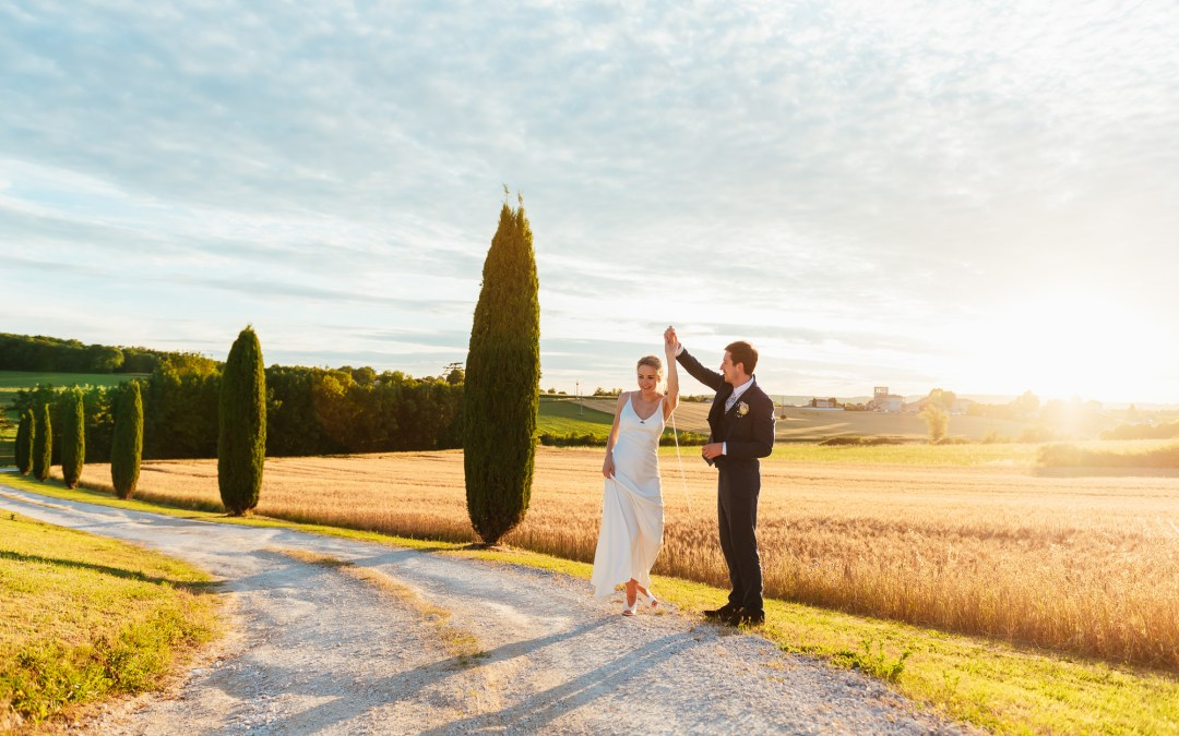 Destination Wedding Photography France – An Outdoor Vineyard Wedding