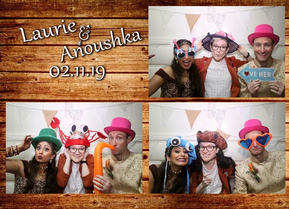 Fun and quirky photo booth image