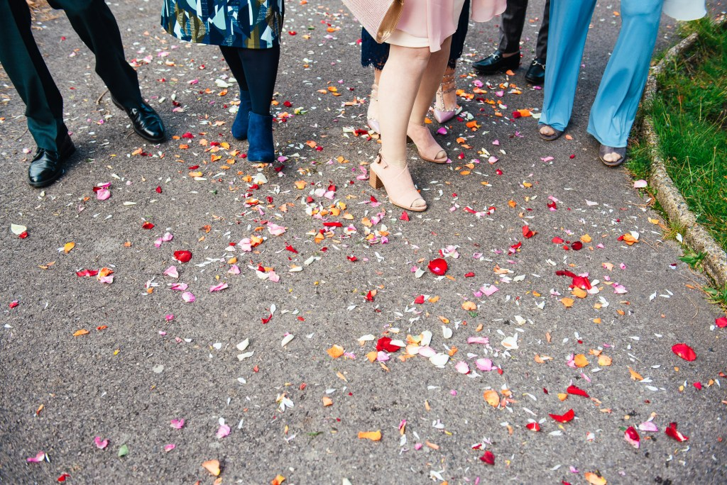 Creative wedding photography, London