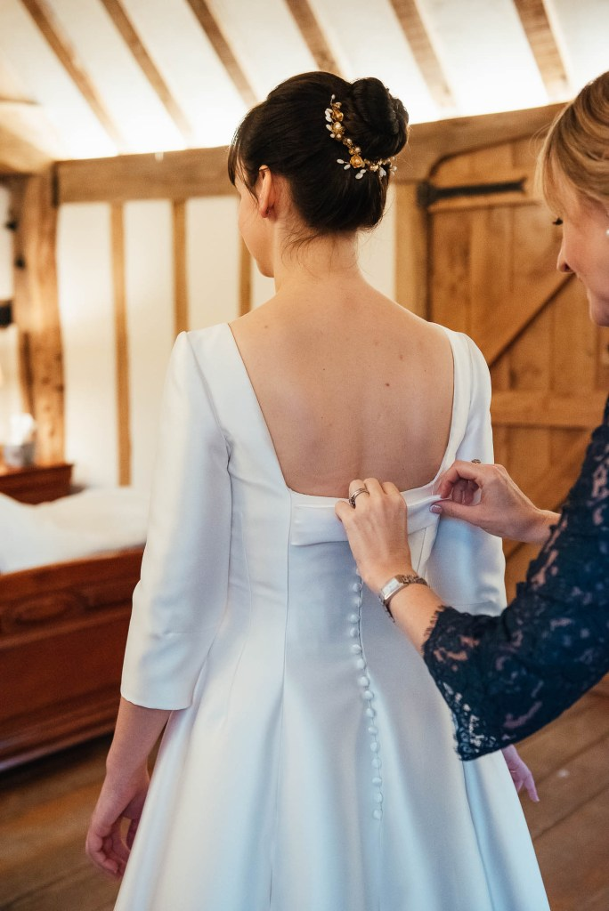 Bridal prep photography for Cain Manor wedding