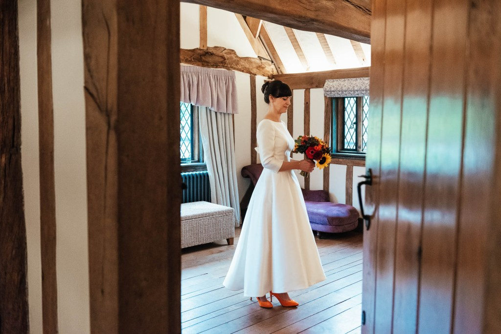 Documentary wedding photography Cain Manor