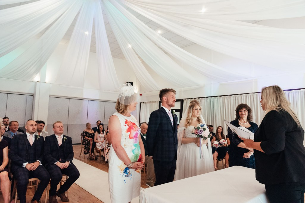 Relaxed wedding photography Denbies Wine Estate Wedding