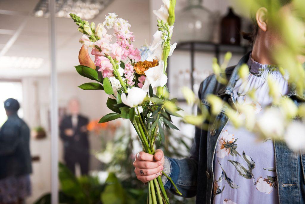 Creative Wedding Florist Photography