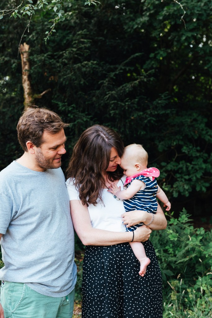 Natural Outdoor Baby Photography, Box Hill Surrey