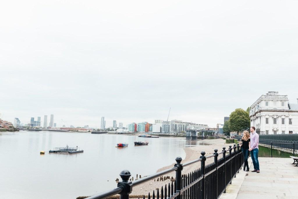 Romantic London Thames Riverside Shoot