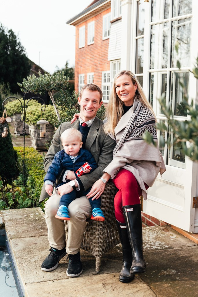 Natural Family Portrait, Danish Family Photography at Home