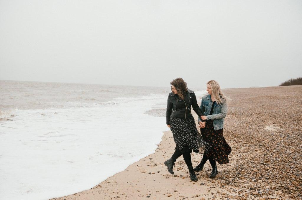 Fun Documentary Suffolk Engagement Photography