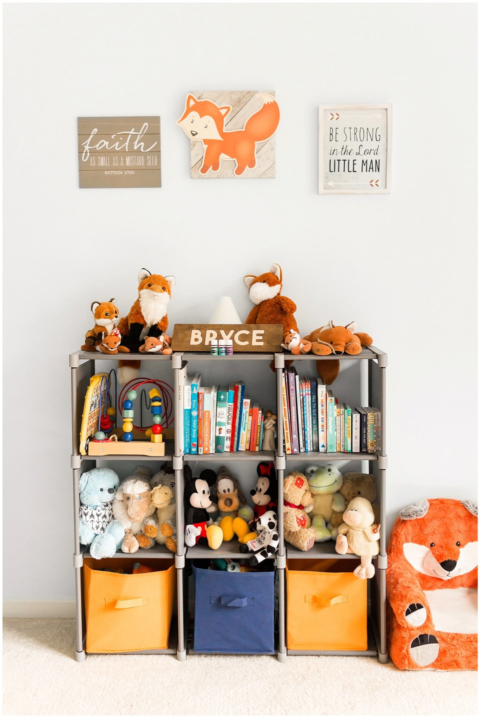 Fox Themed Nursery Decorations