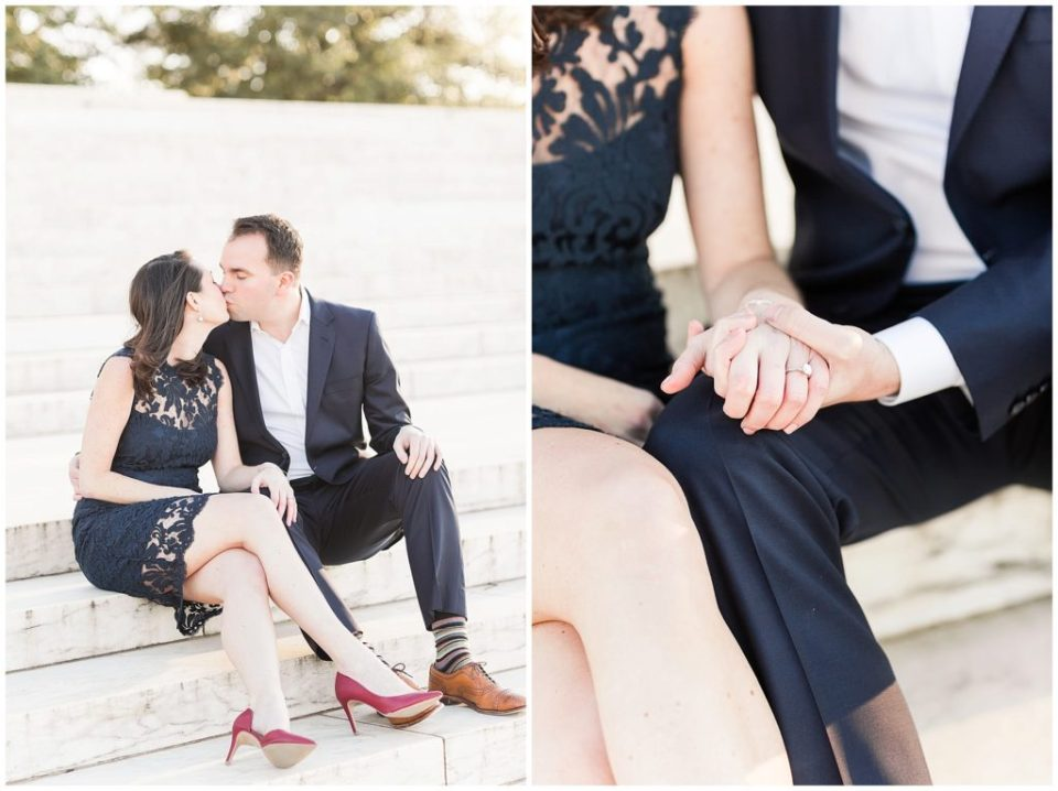 Thomas Jefferson Memorial Engagement Session in Washington DC