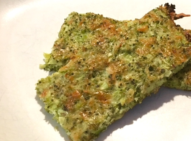 "Cheesy Broccoli ""Bread"""