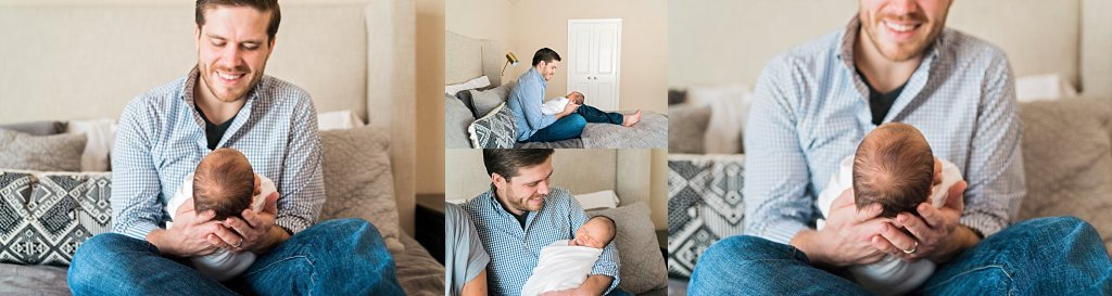 Luke's Dallas TX lifestyle newborn session