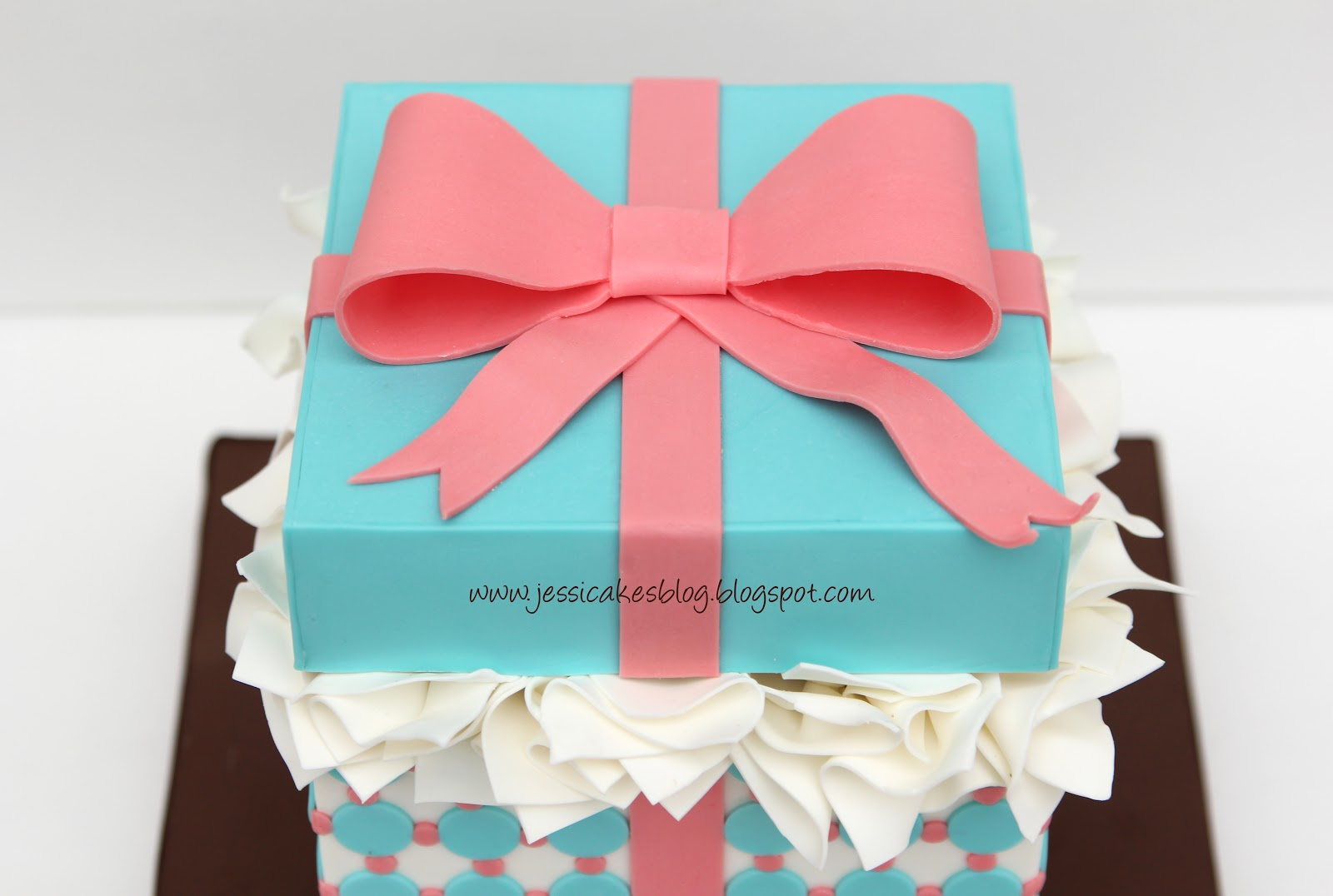 They are such amazing giftsu2026their hearts are treasure boxes. & Gift Box Cake Tutorial - Jessica Harris Cake Design Aboutintivar.Com