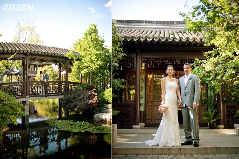 lan su chinese gardens wedding 5jpg - Lan Su Chinese Garden