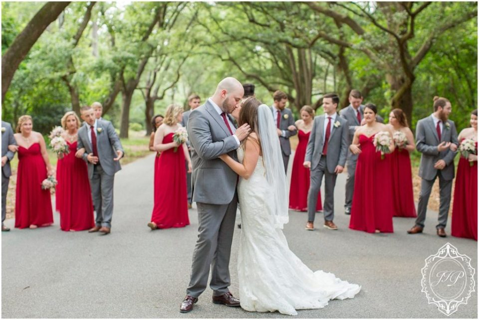 Elegant Southern Charcoal and Maroon Wedding_0057