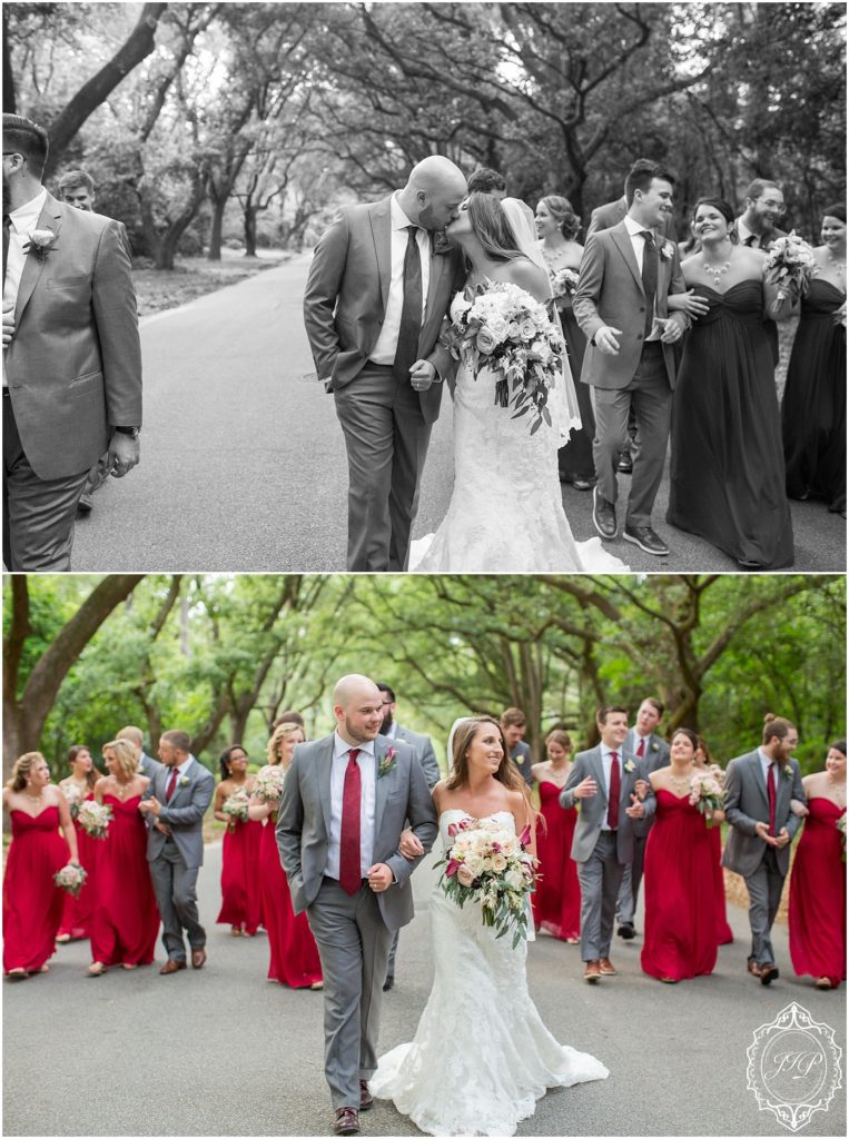 Elegant Southern Charcoal and Maroon Wedding_0061