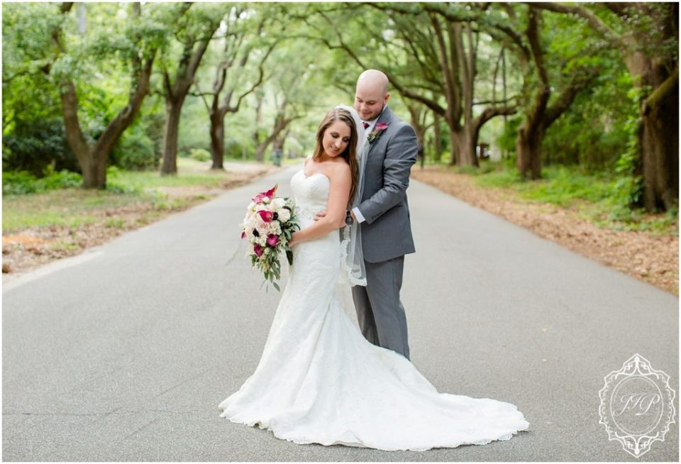 Elegant Southern Charcoal and Maroon Wedding_0068