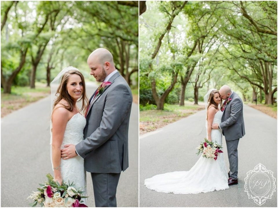Elegant Southern Charcoal and Maroon Wedding_0070