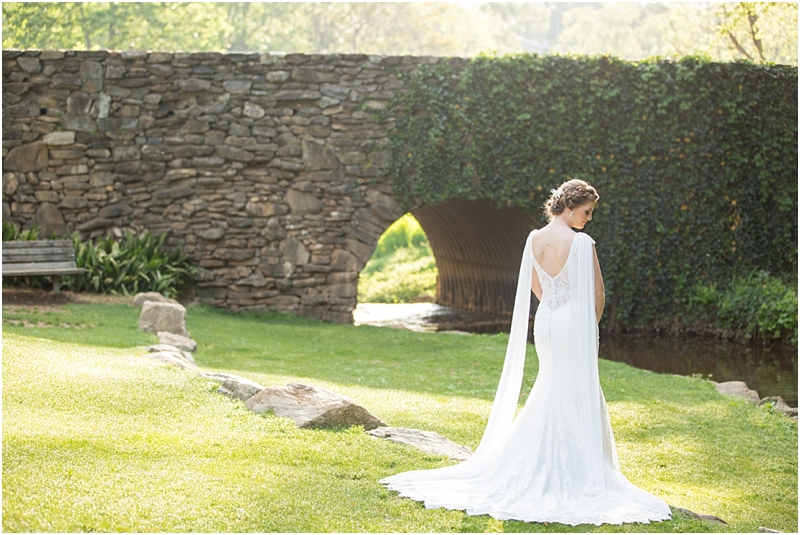 Falls Park on the Reedy Bridal portrait